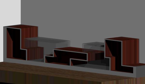 Architetto neri arredamento e design progetto mobili for Progetta mobili